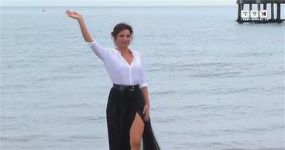 Venezia: Luisa Ranieri, sirena che arriva dal mare