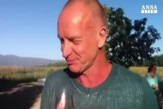 Cocktail con Sting, nel suo podere sul Chianti