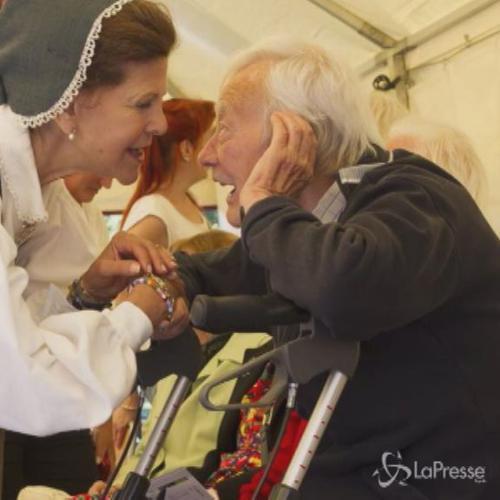 Stoccolma, regina di Svezia partecipa a evento in onore ...