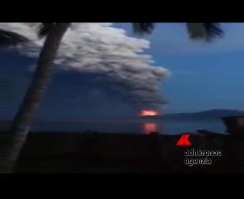 Papua Nuova Guinea, eruzione del Mount Tavarvur