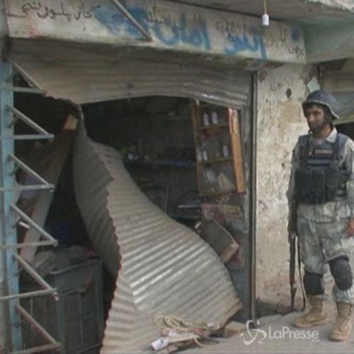 Attentato talebano a sede intelligence in Afghanistan