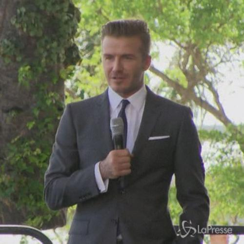Incidente in moto per David Beckham: cade ma resta illeso   ...