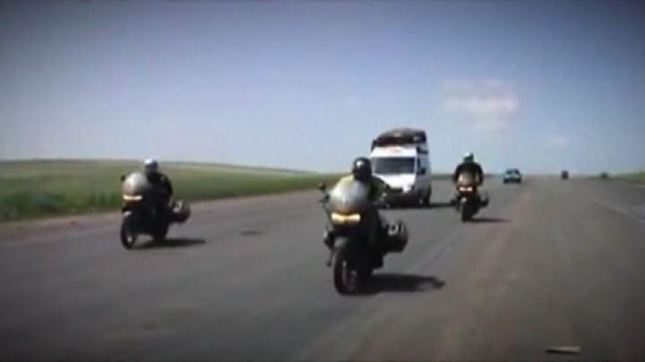Da Roma parte MotoForPeace, la beneficenza arriva su due ruote