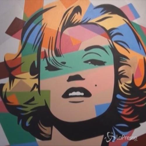 Marilyn Monroe e Madonna insieme per la prima volta in una ...