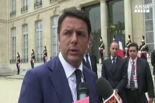 """Ue: """"Si' a ricetta di Renzi"""""""