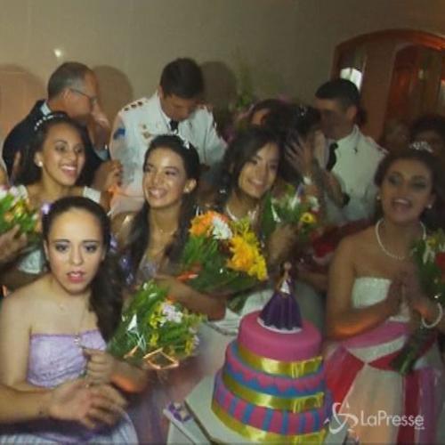 Le ragazze della favela di Rio de Janeiro vanno al ballo ...