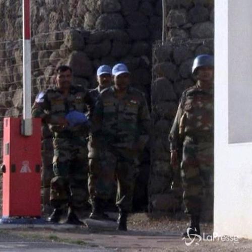 Siria, in salvo 75 caschi blu attaccati sul Golan, 44 in ...