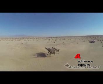 Un 'camion volante' che aiuta i soldati