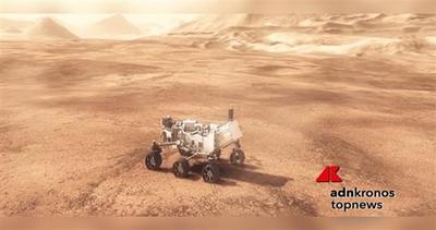 Curiosity colpisce roccia marziana in diretta