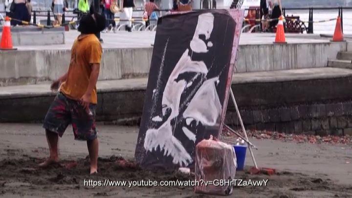 Un pittore 'capovolto'