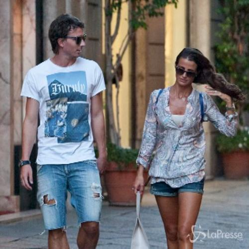 Riccardo Montolivo e Cristina de Pin di ritorno da Miami si ...