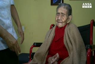Ha 127 anni la donna piu' vecchia al mondo