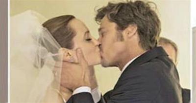 Brad e Angelina, le prime foto ufficiali del matrimonio     ...