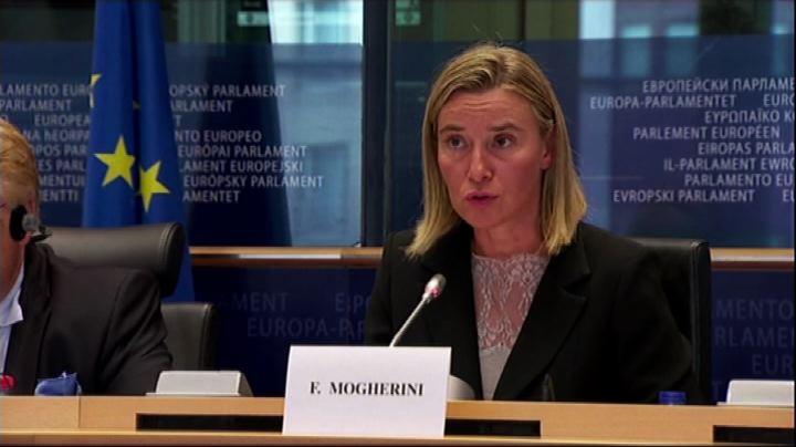 Ucraina, Mogherini: colpa di Mosca se salta il partenariato ...