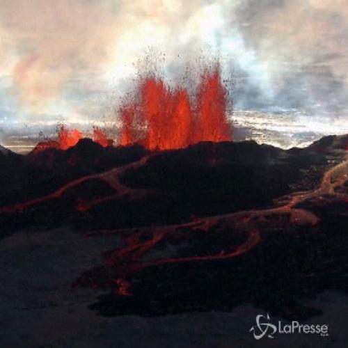 Sceso livello di allerta per vulcano in Islanda, ma si teme ...