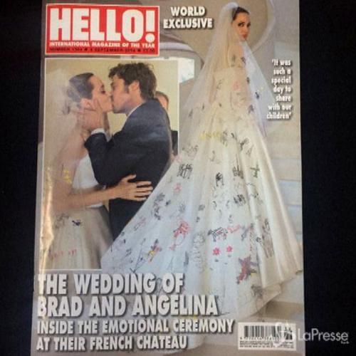 Angelina Jolie e Brad Pitt, ecco le immagini delle nozze    ...