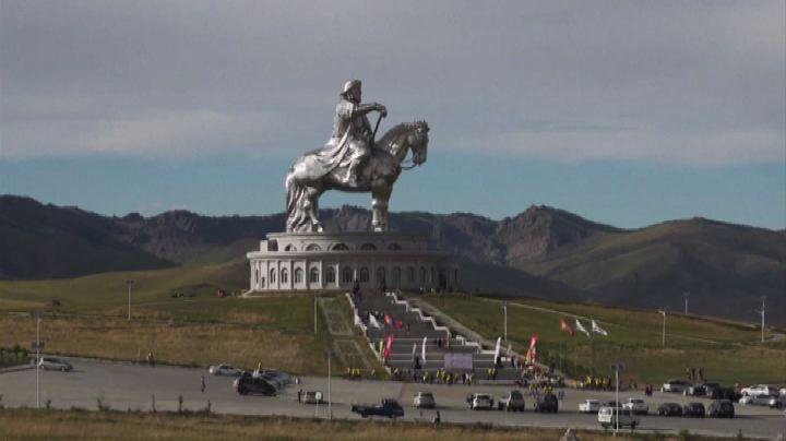 I ciclisti della Mongolia