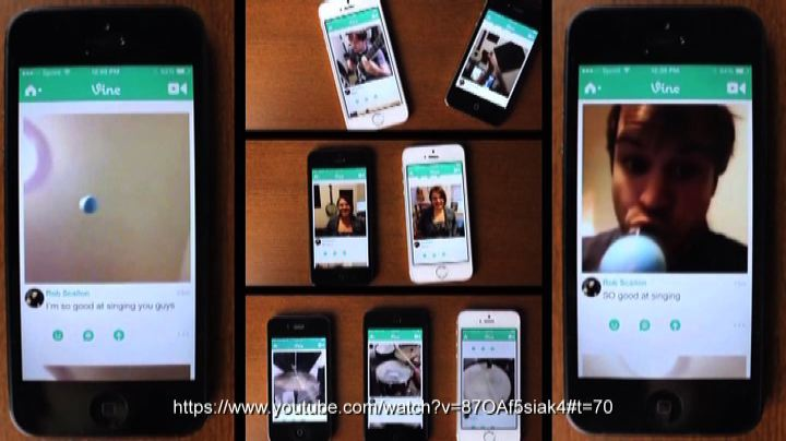 Cantare Happy con tanti smartphone diversi