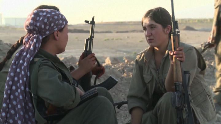 Iraq: anche le donne combattono nei reparti armati dei ...