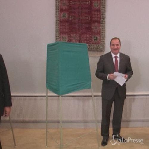 Si vota in Svezia, aperti i seggi i socialdemocratici verso ...