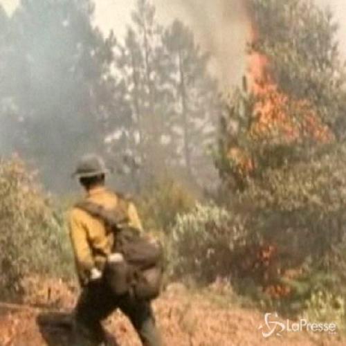 Usa, panico e fiamme fuori controllo in California e ...