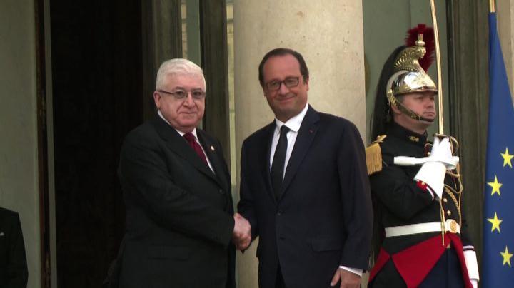 Al via a Parigi la conferenza sulla sicurezza in Iraq