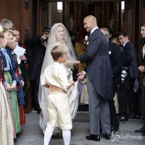Andrea Casiraghi e Tatiana Santo Domingo alle nozze della ...