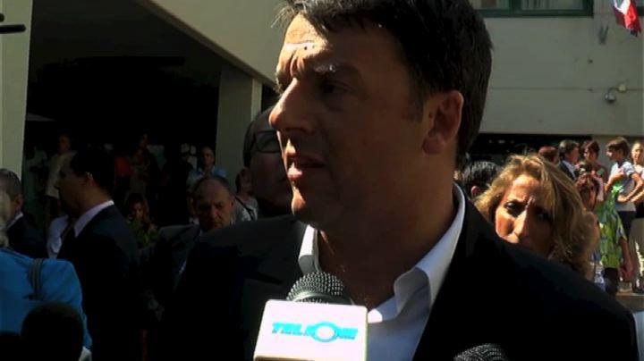 """Renzi: """"Per me il Sud non è un elenco di problemi"""""""