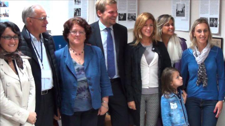 Parlamentari italiani a Lussinpiccolo per Tino Straulino    ...