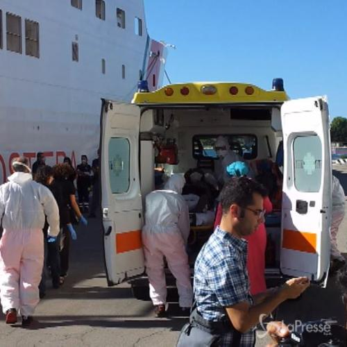 Arrivati a Brindisi quasi 600 migranti