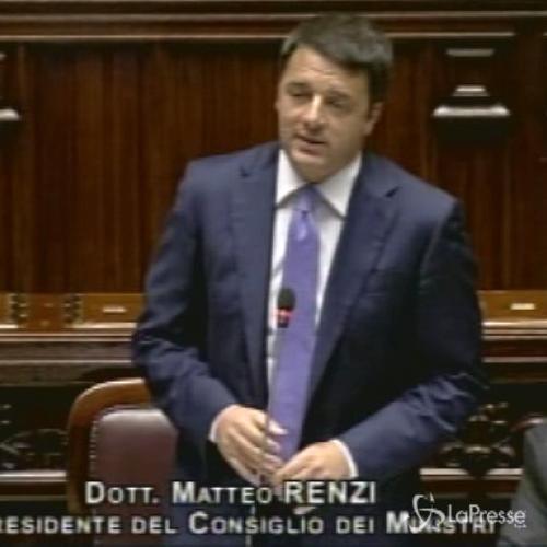 Renzi: Mille giorni ultima chance per pareggiare conti