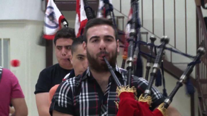 I palestinesi e loro cornamuse per l'indipendenza della ...