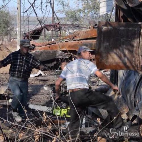 Ucraina, 3 morti e 5 feriti in bombardamenti a Donetsk     ...