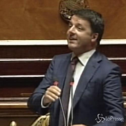 Renzi al Senato: Decrescita felice per chi non ha mai visto ...