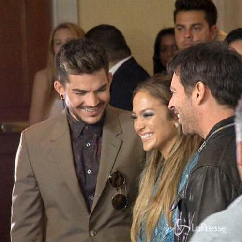 Adam Lambert giudice di 'American Idol' insieme a J.Lo e Harry Connick