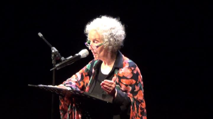 Margaret Atwood a Roma: fantascienza, donne e ambiente