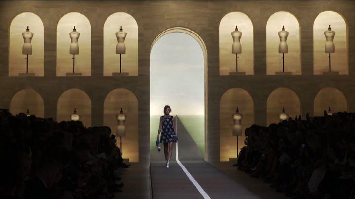 Moda Milano, Fendi: il regno dell'orchidea