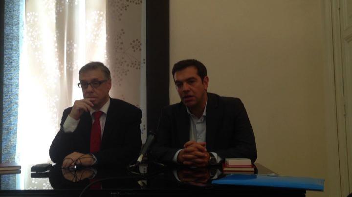 """Tsipras dal Papa, """"su molti temi vicini alla Chiesa"""""""