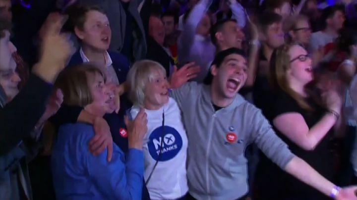 Scozia, vince il no: il Paese resta nel Regno Unito