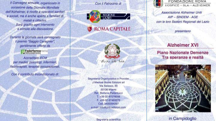 Alzheimer, il Piano Nazionale Demenze in convegno a Roma    ...