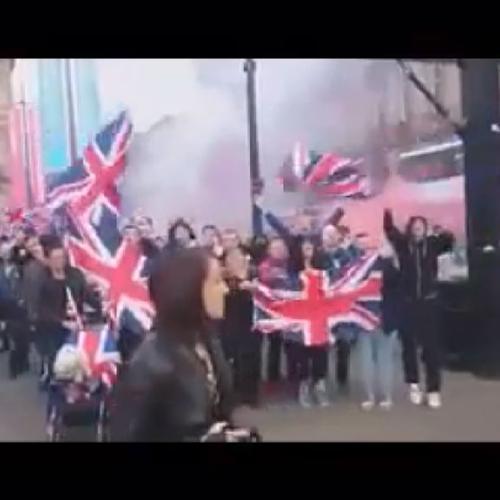 Scozia,tensioni a Glasgow ieri dopo annuncio vittoria del ...