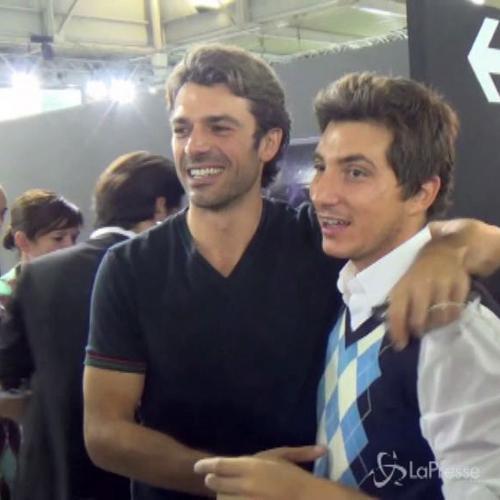Luca Argentero e la sua Myriam uniti dal fashion nonostante ...