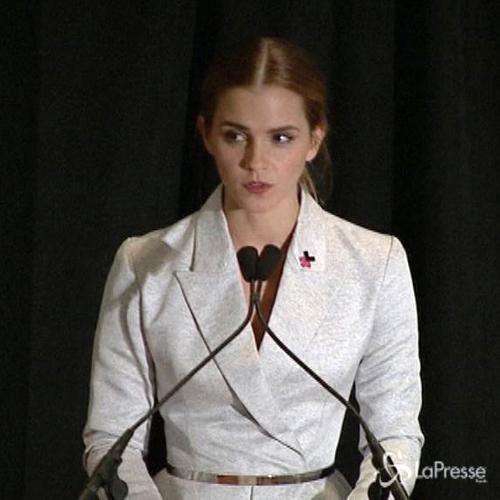 Emma Watson, la femminista che incanta. Il suo discorso a ...