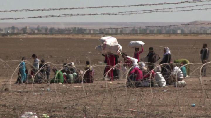 In Turchia arrivano 70mila profughi curdi siriani