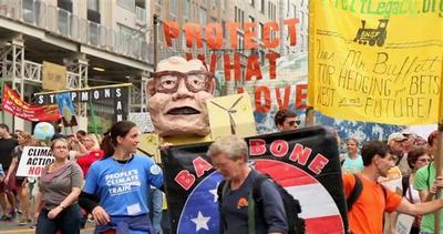 Maxi-marcia mondiale in difesa del clima