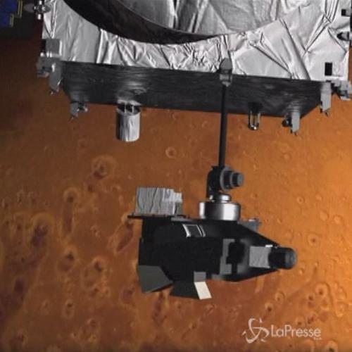 Spazio, la sonda della Nasa Maven è entrata nell'orbita di ...