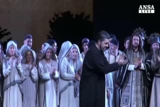 Opera Roma, Muti lascia