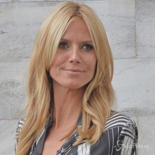 Heidi Klum sfavillante alla sfilata di Cavalli, lezione di ...