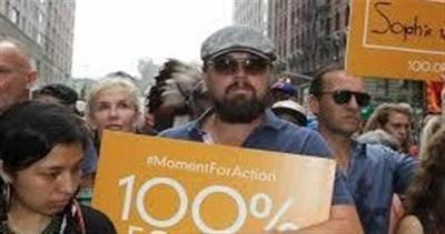 Modelle e attori: i volti noti della marcia sul clima