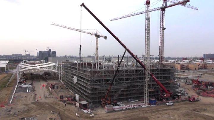Expo 2015, uno sguardo sul cantiere... con il drone